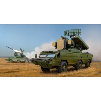 Модель ЗРК ОСА 9К-33 (SA-8 GECKO) (1:35)