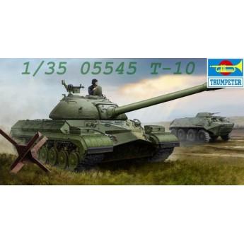 Trumpeter 05545 Сборная модель танка Т-10 (1:35)