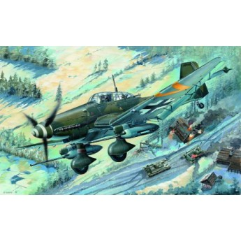 Модель самолета Junkers Ju-87G-2 Stuka (1:32)