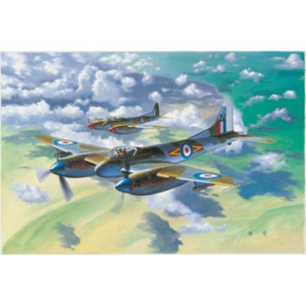 Модель самолета De Havilland Hornet F.3 (1:48)