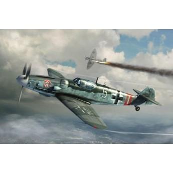 Модель самолета Мессершмитт Bf 109G-6 (поздний) (1:32)