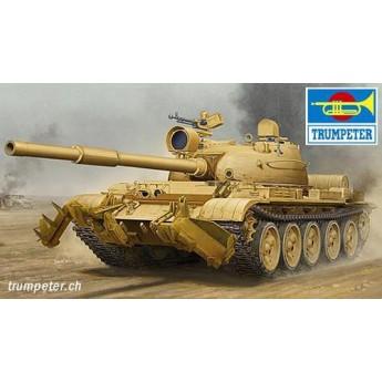Trumpeter 01547 Сборная модель танка Т-62 мод 1960 (Ирак) (1:35)