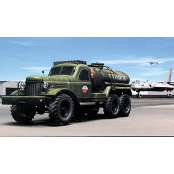 Модель автомобиля ЗИЛ-157 бензовоз (1:72)