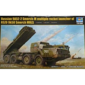 Модель РСЗО 9А52-2 Смерч-М (1:35)