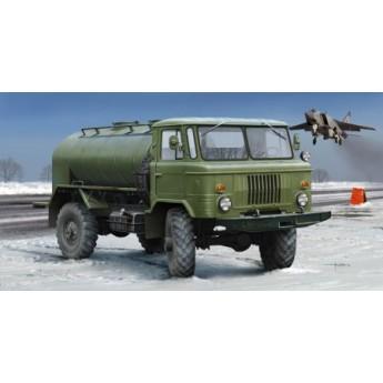 Модель автомобиля бензовоз ГАЗ-66 (1:35)