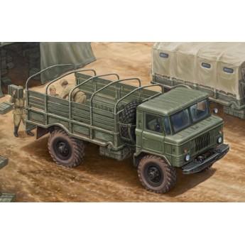 Модель автомобиля GAZ-66 Light Truck I (1:35)