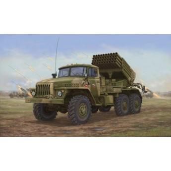 Модель автомобиля Russian BM-21 Hail MRL -Late (1:35)