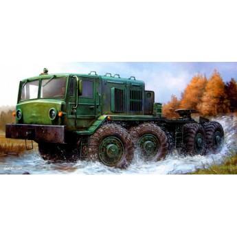 Модель автомобиля МАЗ-537 тягач (1:35)