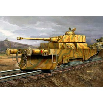 Модель противотанкового броневагона (1:35)