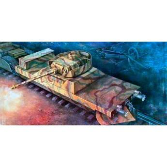 Модель артиллерийского броневагона (1:35)