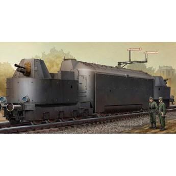 Модель бронепоезда немецкого №16 (1:35)