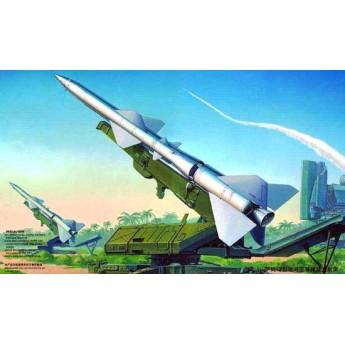 Модель пусковой установки с ракетой (1:35)