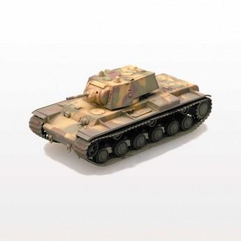 Easy Model 36275 Готовая модель танка КВ-1 1941 г трехцветный камуфляж (1:72)