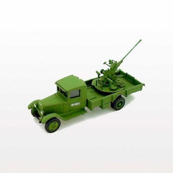 ZiS-12 Soviet Truck with 37-mm 61-K AA Gun