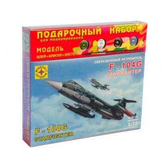 """Модель истребителя F-104G """"Старфайтер"""" (1:72)"""
