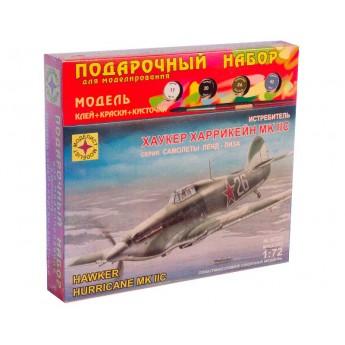 "Модель истребителя Хаукер ""Харрикейн"" Mk.IIC (1:72)"