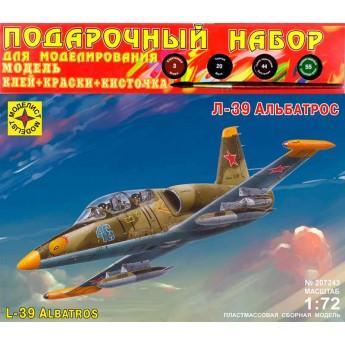 Моделист ПН207243 Сборная модель самолета Л-39 Альбатрос. Подарочный набор (1:72)