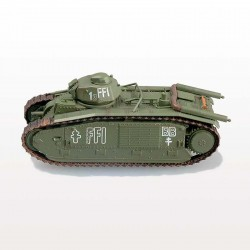 Модель танка B1bis, Париж, 1944г. (1:72)