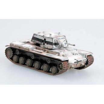 Easy Model 36278 Готовая модель танка КВ-1 трофейный (1:72)