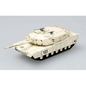 "Easy Model 35030 Готовая модель танка М1А1 ""Абрамс"" в Кювейте 1991 г (1:72)"
