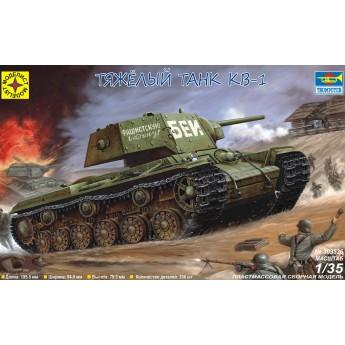 Модель танка КВ-1.