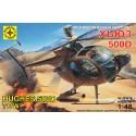 Моделист 204819 Сборная модель вертолета Хьюз 500Д (1:48)