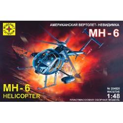 Моделист 204820 Модель вертолета-невидимки МН-6 (1:48)