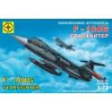 """Моделист 207201 Сборная модель истребителя F-104G """"Старфайтер"""" (1:72)"""