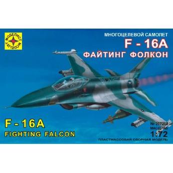 """Моделист 207202 Сборная модель самолета F-16A """"Файтинг Фолкон"""" (1:72)"""