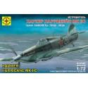 "Моделист 207207 Сборная модель истребителя Хаукер ""Харрикейн"" Mk.IIC (1:72)"