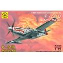 """Моделист 207208 Сборная модель истребителя P-51D """"Мустанг"""" (1:72)"""