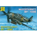 Моделист 207209 Сборная модель истребителя Мессершмитт Bf-109E (1:72)
