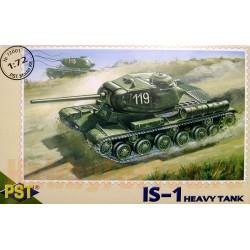 Модель тяжелого советского танка ИС-1.