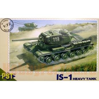 Модель тяжелого советского танка ИС-1. Модель для сборки