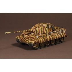 Модель тяжелого немецкого танка Тигр II (башня Порше). TIGER AUSF. B (SD. KFZ. 182)
