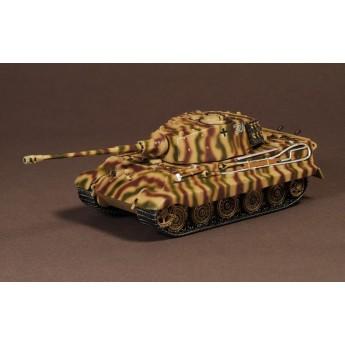 Модель тяжелого немецкого танка (башня Порше) Тигр II. TIGER AUSF. B (SD. KFZ. 182)