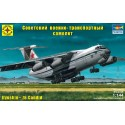 Моделист 214479 Сборная модель военно-транспортного самолёта конструкции Ильюшина - 76 (1:144)