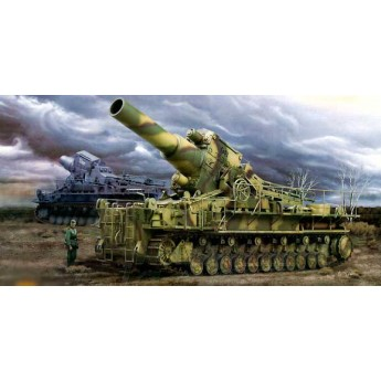 """Модель пушки """"Карл"""" 040/041 (1:35)"""