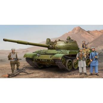 Trumpeter 01551 Сборная модель танка Т-62 мод 1975 + КТД2 (1:35)