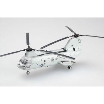 Easy Model 37000 Готовая модель вертолета CH-46E Морской Рыцарь (1:72)