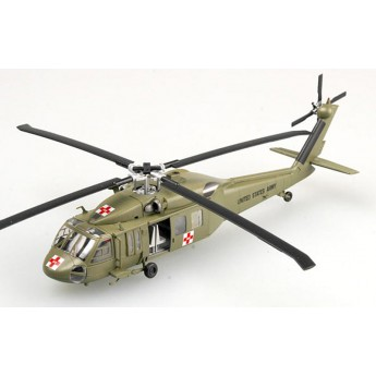 Easy Model 37018 Готовая модель вертолета UH-60A (1:72)