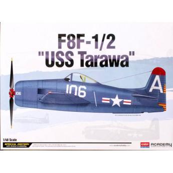 Модель самолета F8F-1/2 Bearcat USS Tarawa (1:48)
