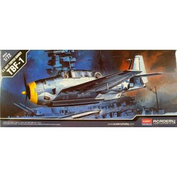 Модель самолета TBF-1 (1:72)