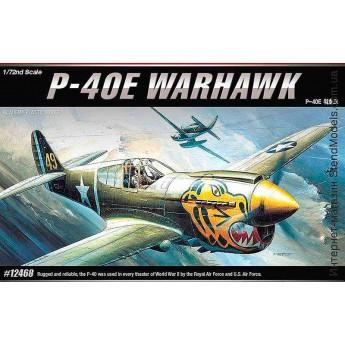 Модель самолёта P-40E WARHAWK (1:72)
