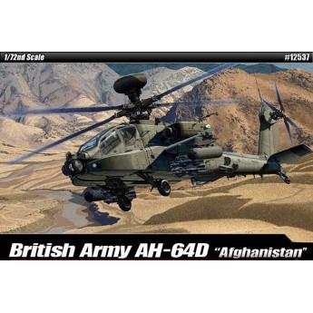 Модель вертолета British Army AH-64 Afghanistan (1:72)
