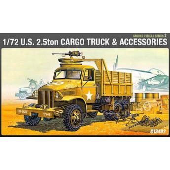 Модель 2,5 - тонный грузовик армии США (1:72)