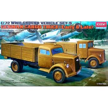 Модель немецкого грузовика (1:72)