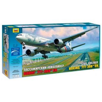 Модель самолета Боинг 777-300 ER (1:144)