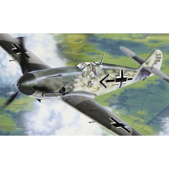 Модель самолёта Bf.109 F2/4 (1:72)