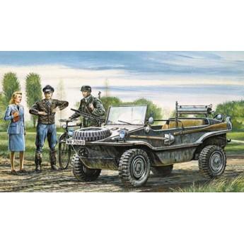 """Модель автомобиля Kfz. 69 """"Швиммваген"""" (1:35)"""